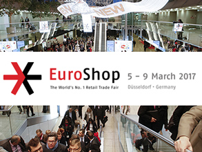 Welcome to visit E.NEXT-Group exhibition booth on EuroShop 2017