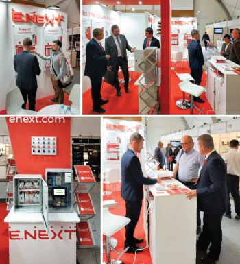 E.NEXT-Group at the exhibition ENERGETAB 2018