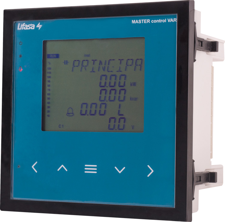Meet the novelty: reactive power controller of the  Master Control Var series!