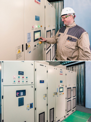 Thermal power station of Ladyzhyn saves 31% of electricity using the E.NEXT frequency converter