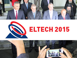 Grand opening of the «Eltech Plovdiv-2015» Exhibition in Bulgaria